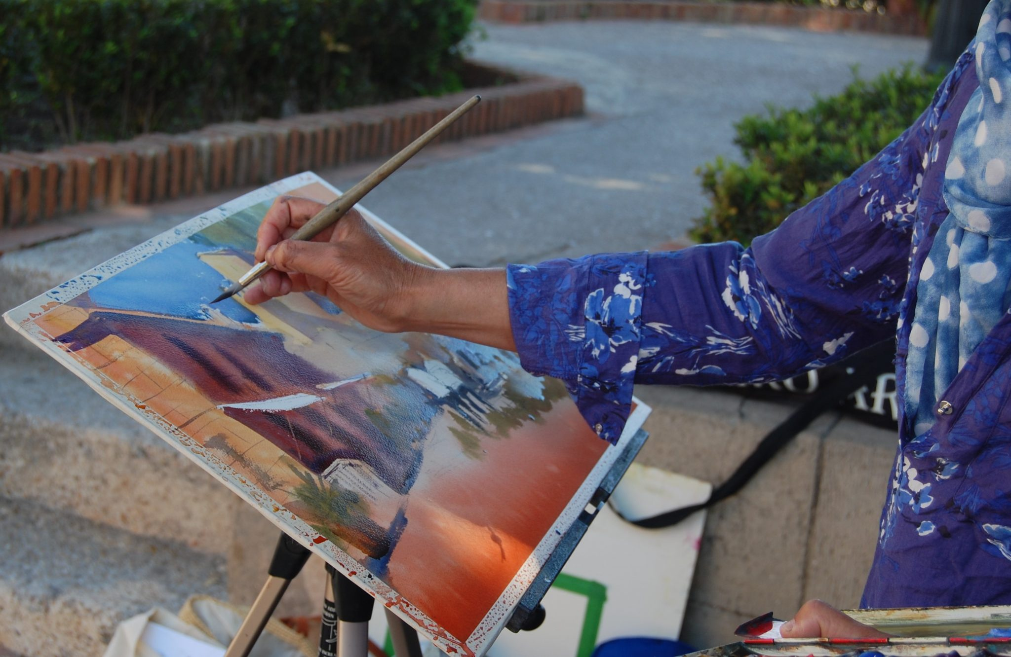 www.paintonholiday.com art retreat workshop vacations
